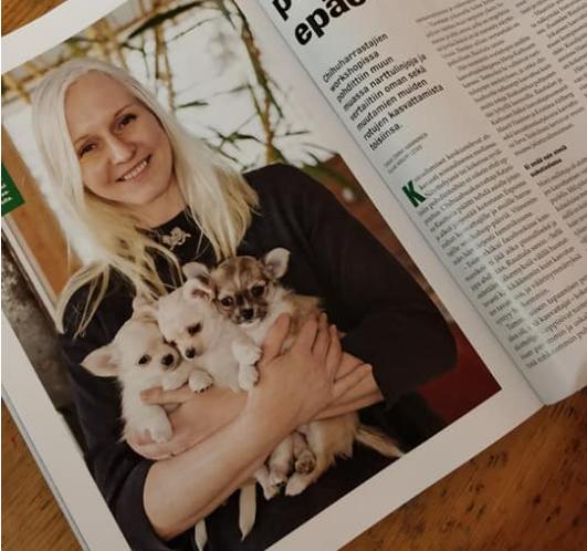 26.1.2019 Chihuahua Workshop 50 ihmistä Kekkapäässä (artikkeli julkaistu Koiramme maaliskuu 3/2019)